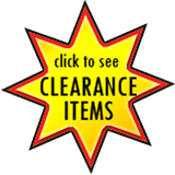 click to see our CLEARANCE ITEMS