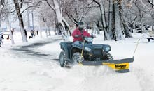 Meyer ATV Snow Plow